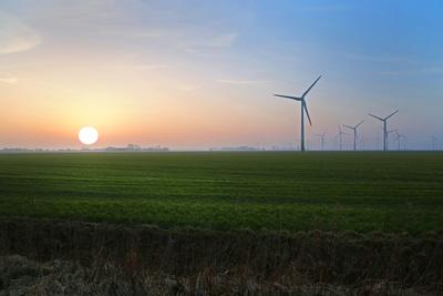 Sonnenuntergang im Norden