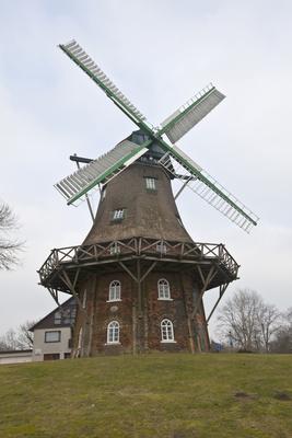 Windmühle in Midlum