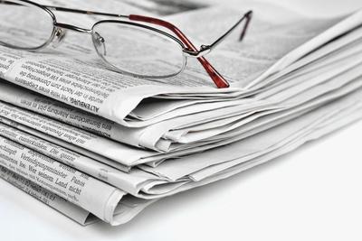 Zeitungsschau