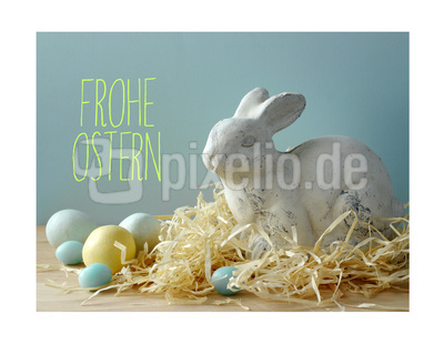 Frohe Ostern . . .