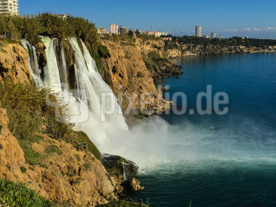 Düden-Wasserfall bei Antalya