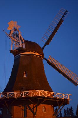 Mühle am Morgen