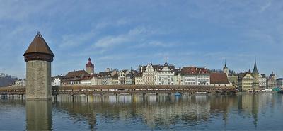 Stadtansicht im Panoramablick