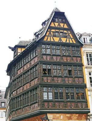 Mitten in Straßburg . . . . ,