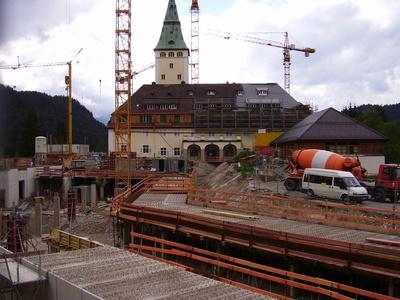 Schloss Elmau Wiederaufbau 2