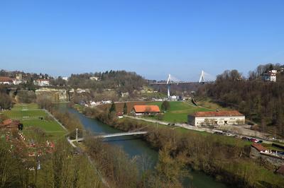 Am Rande der Stadt Fribourg