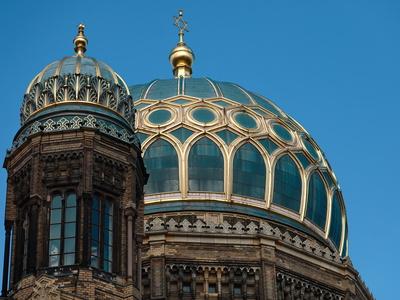 Kuppel Neue Synagoge Berlin