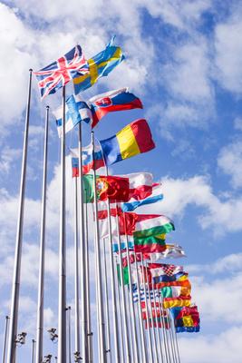 Europa-Flaggen 1