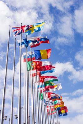 Europa-Flaggen 2