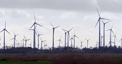 Viel Wind  >  viel Strom