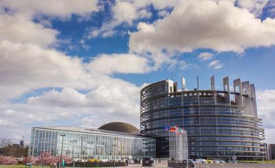 Europa-Parlament Straßburg 1