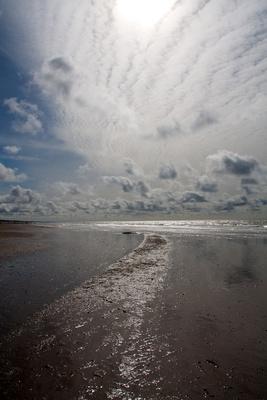 Strandspaziergang mit Weitblick