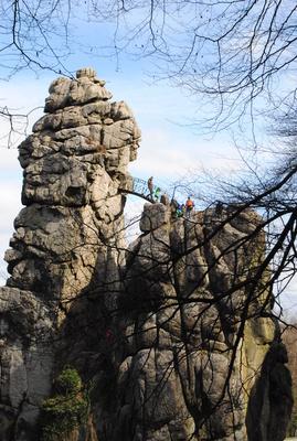 Externsteine Felsen 3 und 4