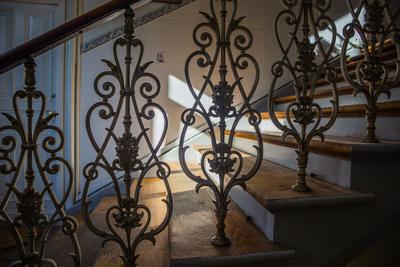 Treppe und Geländer in Altbauvilla