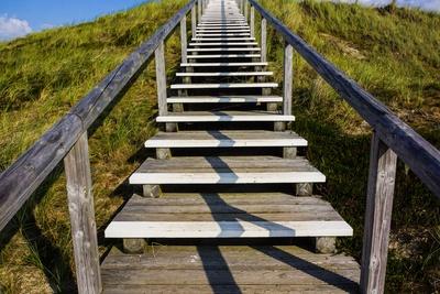 Treppe zum Glück