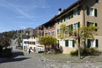 Häuserzeile in Regensberg