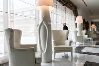 Moderne, elegante Lobby