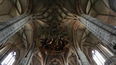 St..Lorenz Nürnberg m. Engl. Gruß
