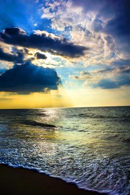 Himmelsstimmung am Meer