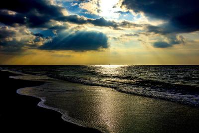 Lichtblick am Meer