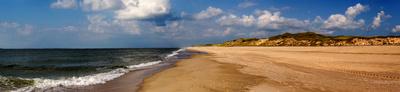 Strandpanorama bei List auf Sylt