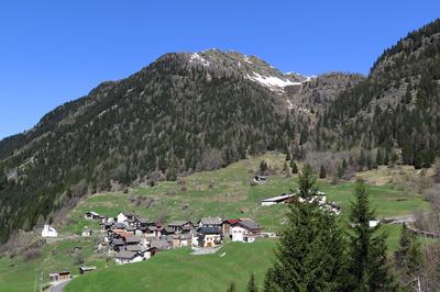 Bergdorf Altanca im Tessin