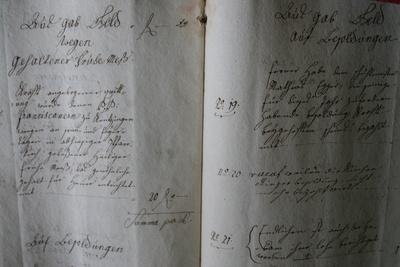 Blick ins Alte Kirchenbuch