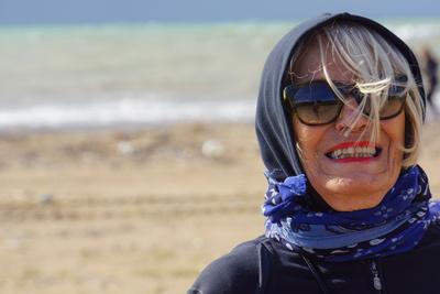 Urlaubsfreude am Meer