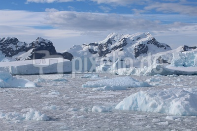 Antarktis - Eisberge