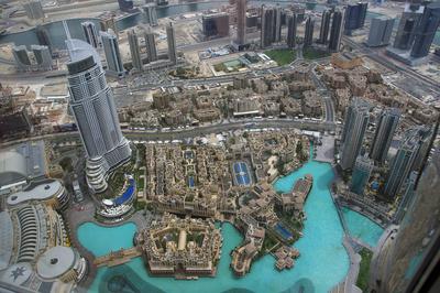 Dubai von der 125. Etage
