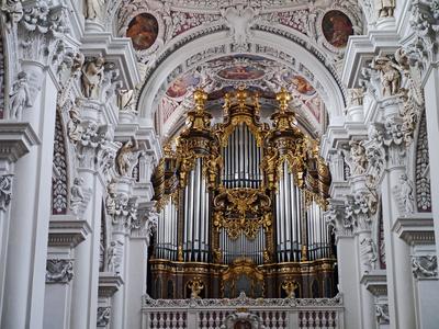 Die Orgel . . . .