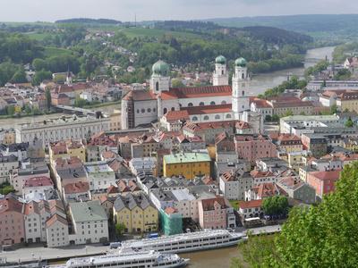 Passau - Altstadt mit Dom