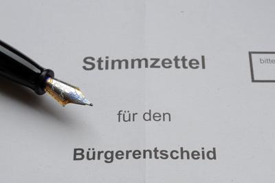 Frankfurts erster Bürgerentscheid