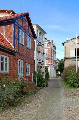 Altstadt von Sassnitz auf Rügen