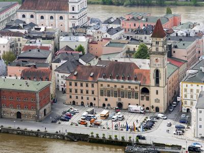 Rathaus Passau . . . .