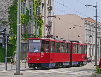 Straßenbahn in Belgrad