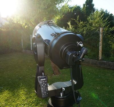 Sonnenbeobachtung mit Teleskop
