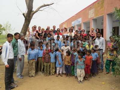 Grundschulbesuch in indien