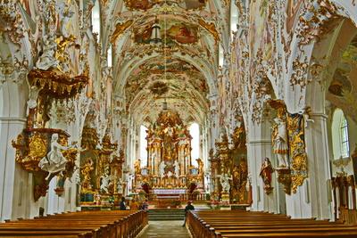 Stiftskirche in Rottenbuch