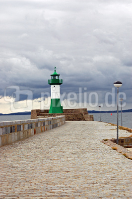 Sassnitz - Mole zum Leuchtturm