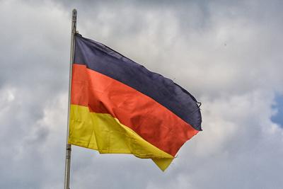 Fahne im Wind