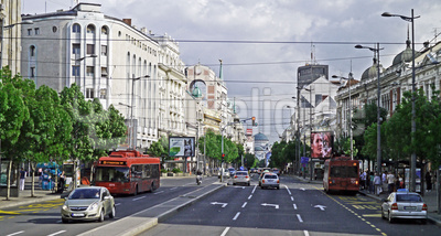 Belgrad am Sonntagnachmittag