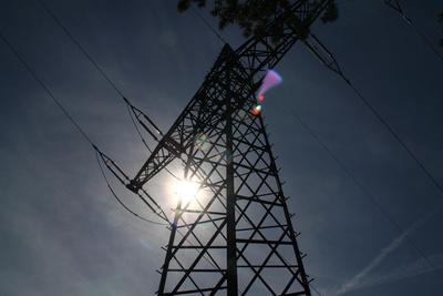 Strom im Gegenlicht