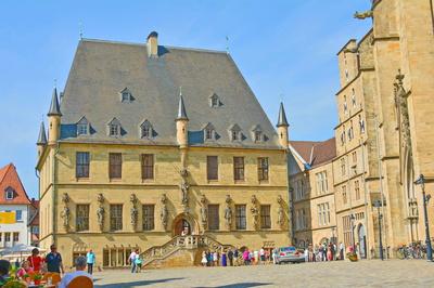 Das Rathaus von Osnabrück