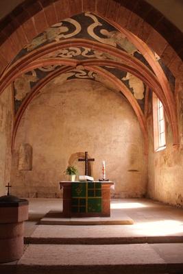 kleine historische kirche....anno 982