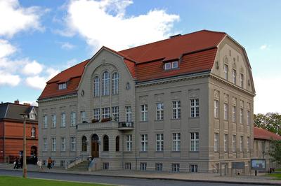 Rathaus von Sassnitz auf Rügen