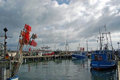 Sassnitz - Alter Fähr- und Fischereihafen