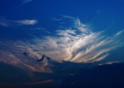 Wetter und Wolken ..