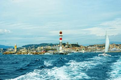 Bootsfahrt vor Cannes