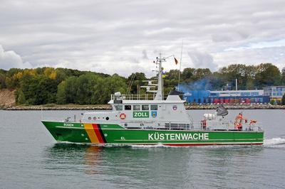 Sassnitz - Alter Fähr- und Fischereihafen - Küstenwache - Coast Guard
